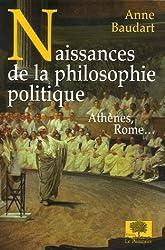 Naissances de la philosophie politique