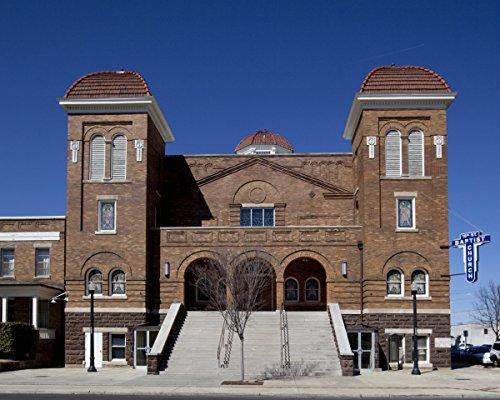 (Photo Print 20x24: Sixteenth Street Baptist Church, Birmingham, Alabama, 2010)