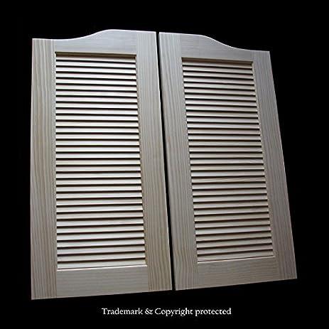 Cafe Doors by Cafe Doors Emporium | LARGE Pine Cafe Doors | Premade for 40\u0026quot;  sc 1 st  Amazon.com & Cafe Doors by Cafe Doors Emporium | LARGE Pine Cafe Doors | Premade ...