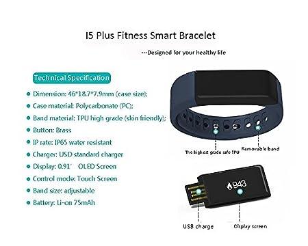 Amazon.com: BEST OF SOURCE I5 Plus Smartwatch Fitness ...