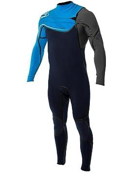 6b858e2fb Body Glove Traje de Surf Prime Blue Hombre 4 3 mm Traje de Neopreno para  Surf Kite Wake Tarjeta Agua Traje de esquí  Amazon.es  Deportes y aire libre