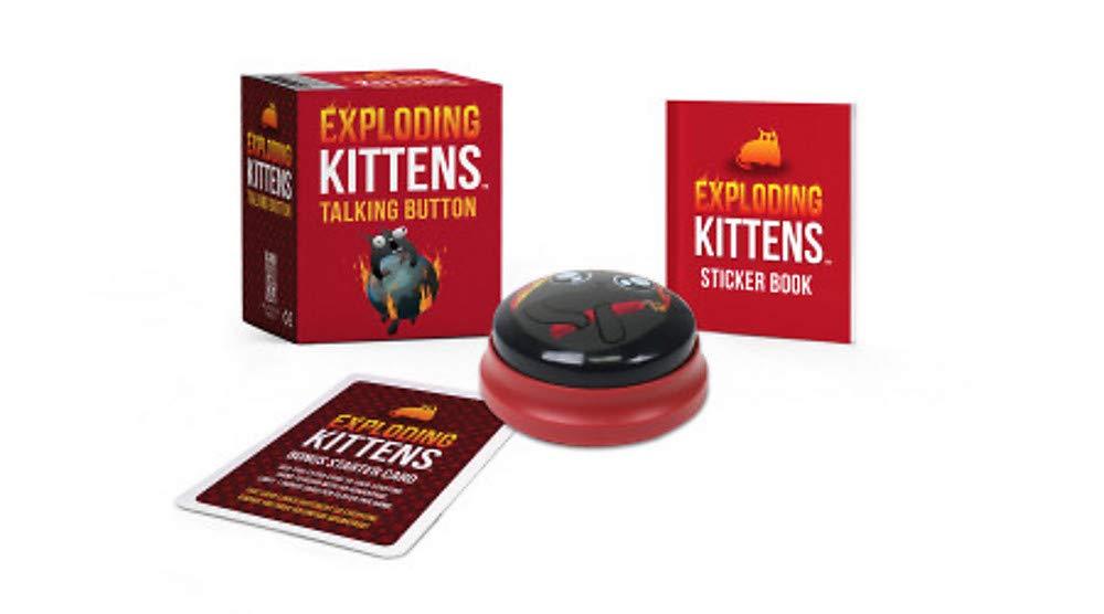 Exploding Kittens: Talking Button (Rp Minis): Amazon.es: Exploding Kittens: Libros en idiomas extranjeros