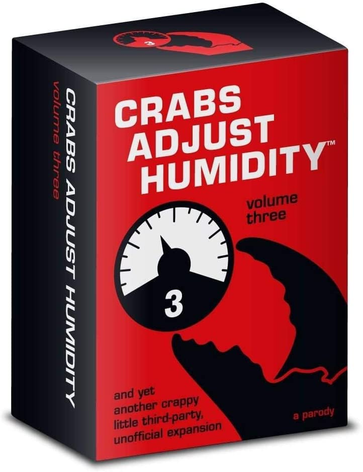 Crabs Adjust Humidity - Vol Three by Vampire Squid Cards: Amazon ...