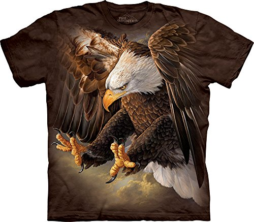 The Mountain Freedom Eagle T-Shirt, XX-Large, Brown (Freedom Eagle T-shirt)
