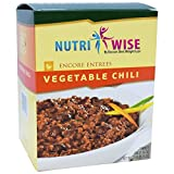 Nutriwise - Vegetable Chili Diet Entree (7 Servings/box)