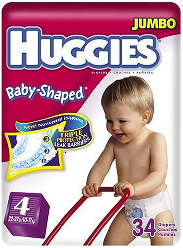 amazon com huggies baby shaped fit diapers with gigglastic