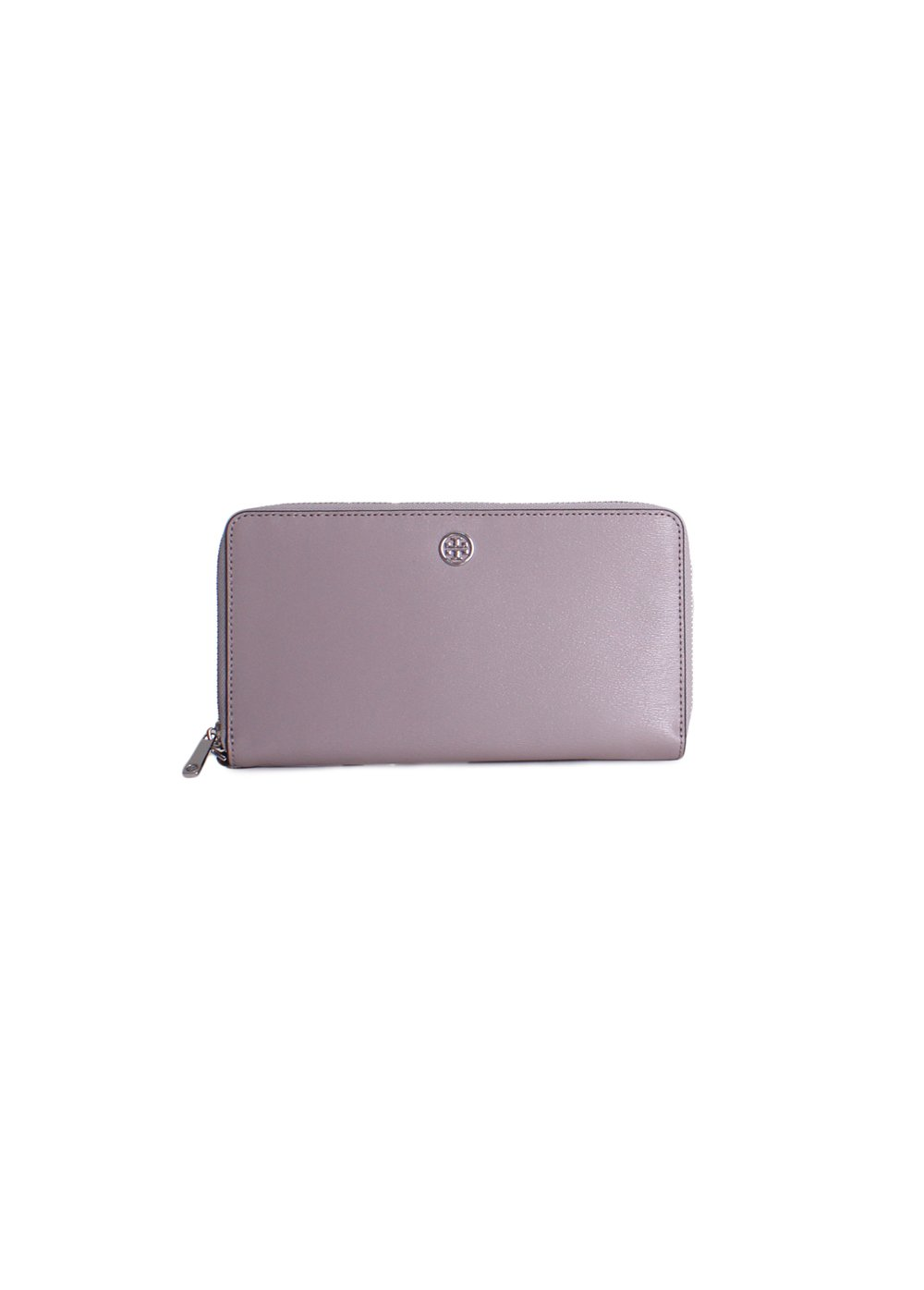 Tory Burch Parker Travel Continental Wristlet Wallet in Dust Storm