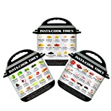 Electric Pressure Cooker Cook Times Quick Reference Guide Compatible with Instant Pot