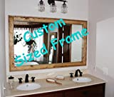 55'' x 30'' Custom Sized Herringbone Style Mirror by Renewed Decor, available in 20 colors