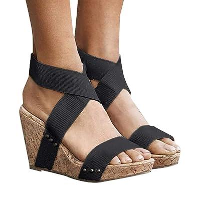 47417c1a0 Amazon.com  Women s Wedge Heels Sandals