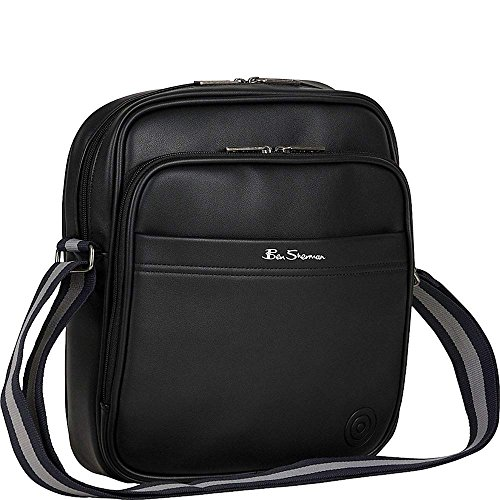 Ben Sherman Bowen Road Single Compartment Top Zip Leather Crossbody Bag in - Ben Sherman Buy