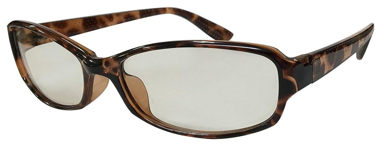 Face Trick glasses フェイストリックグラッシーズ PCメガネ 知的な印象のスクエアシェイプ かわいいドットプリント ブルー光線カット 鯖江コンベックス社日本製レンズ使用 福井サングラスメーカーの画像