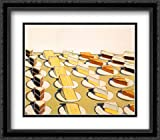 Pie Counter, 1963 2x Matted 27x27 Large Black Ornate Framed Art Print by Wayne Thiebaud