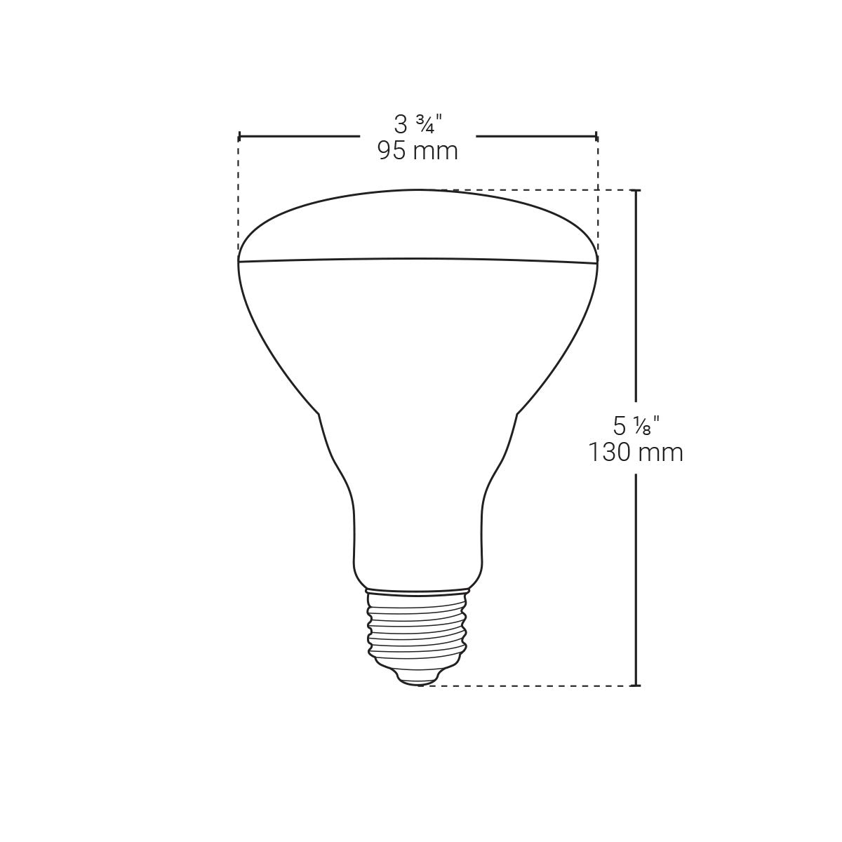Smart BAZZ BR30RGBTNWWF Smart Home Wi-Fi LED RGB BR30 Bulb Color Change Matte White Energy Star Dimmable