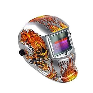 GEZICHTA Hinmay Solar Energy Welding Helmet Campana de ...