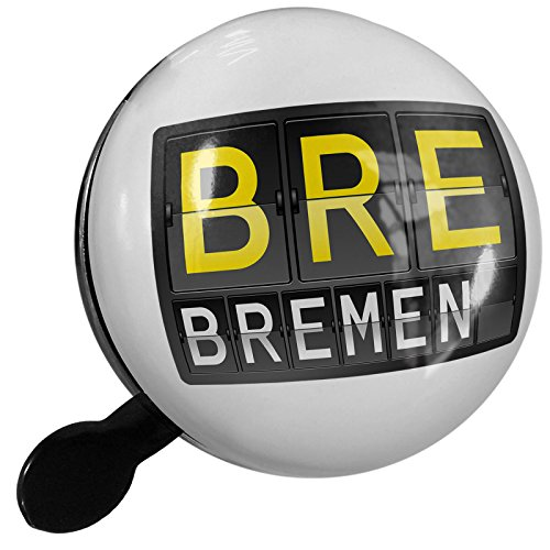 Bremen Port - Small Bike Bell BRE Airport Code for Bremen - NEONBLOND