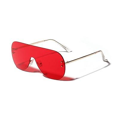 Gafas de sol con lentes de una pieza, gafas de sol ...