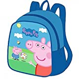 Preschool Backpack Peppa Pig 8 inch, Baby Bag, Small Backpack Kids, Bag Girl Cute Backpack Kindergarten for Baby, Gray, Little Girl, Pink