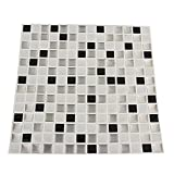 3D Colorful Modern Mosaic Ceramic Tile Sitting Room Toilet Wall Stickers