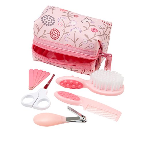 1st Grooming Kit 10 Pieces - Pink