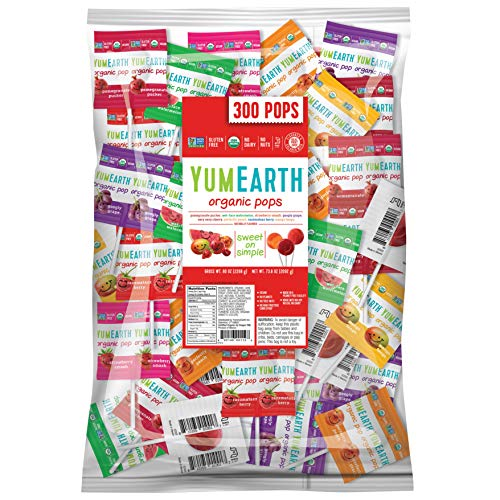 YumEarth Organic Lollipops, Assorted Flavors, 5 Pound