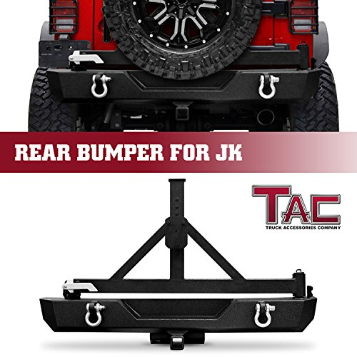 - TAC Rear Bumper with Swing Tire Carrier & 2
