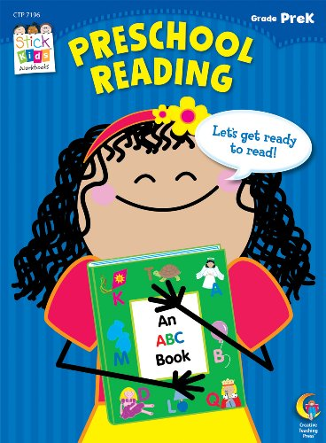 Preschool Reading Stick Kids Workbook (Stick Kids Workbooks)