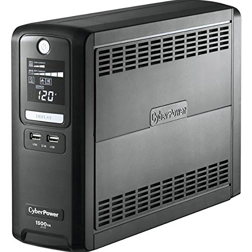 CyberPower Systems LX1500GU 1500VA UPS with LCD Display by CyberPower