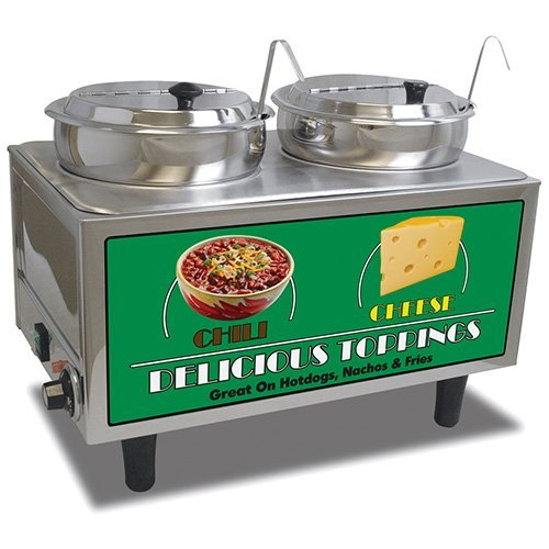 (Benchmark USA Chili And Cheese Warmer Model Number 51072A)
