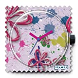 STAMPS -art in pink -Watch