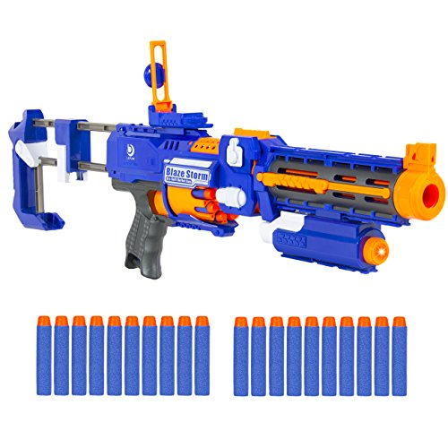 Best Choice Products Foam Bullet Blaster Toy Gun Includes 20 Darts