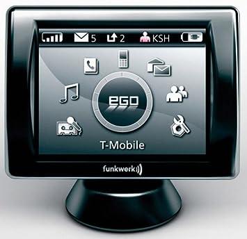 Funkwerk Dabendorf EGO Look - Kit manos libres Bluetooth para coche, negro