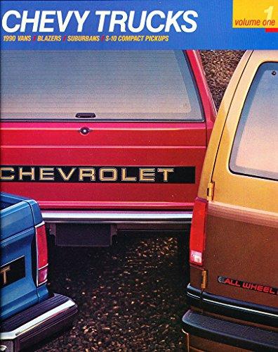 1990 Chevrolet Truck 90-page Brochure Catalog - Astro Van Blazer Suburban S-10