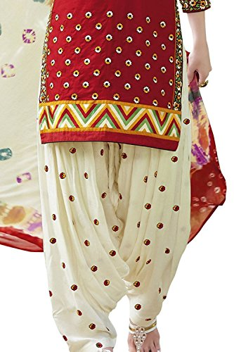 Dream Angel Fashion DreamAngel Women's Cotton Patiala Salwar Suit (Ready Made) (Medium) by Dream Angel Fashion (Image #3)