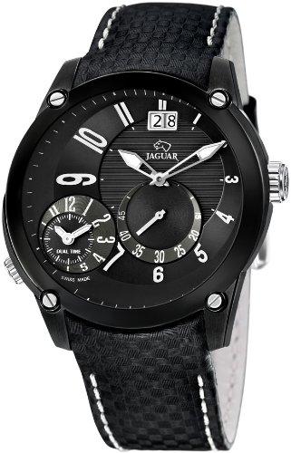 Jaguar J632/D – Reloj de pulsera de hombre, correa de piel color negro