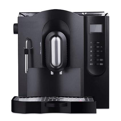 LJHA kafeiji Máquina de café Italiana, máquina de café de Bombeo Completamente automática, Polvo