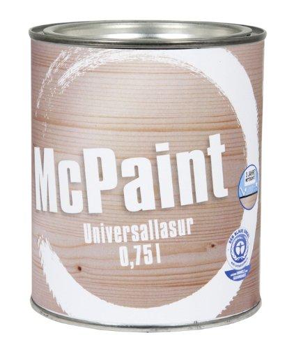 McPaint Universallasur innen/außen Nussbaum dunkel 0,75 Liter