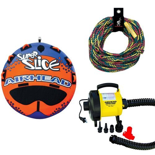 Airhead Super Slice Rope and Pump - Towable Super Slice