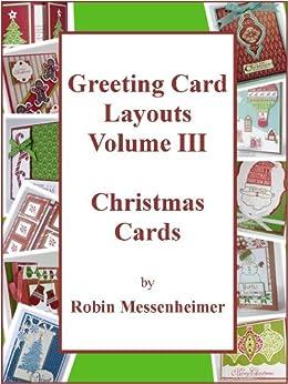 Amazon.com: Greeting Card Layouts Volume III - Christmas Cards eBook