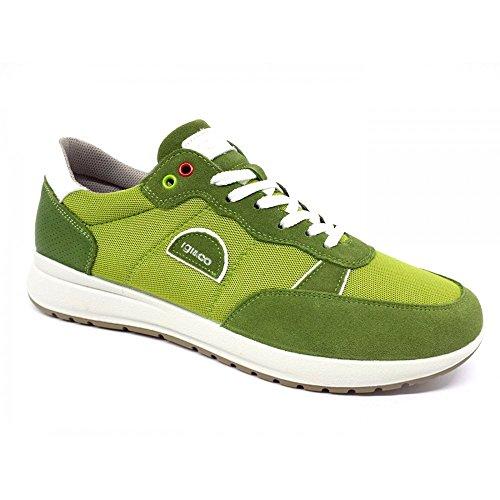 IGI&Co Herren Sneaker Grün Grün Grün