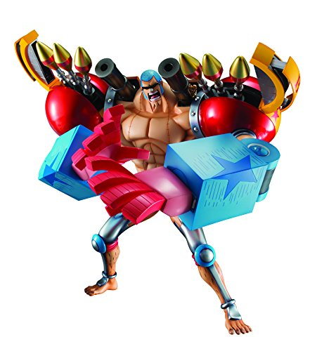 Megahouse One Piece: Portrait of Pirates: Sa-Maximum Armored Franky Excellent Model Limited PVC (Megahouse One Piece)