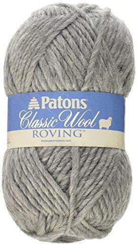 Patons Classic Wool Roving Yarn Grey