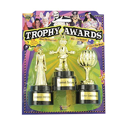 Forum Novelties Halloween Costume Trophy Awards,