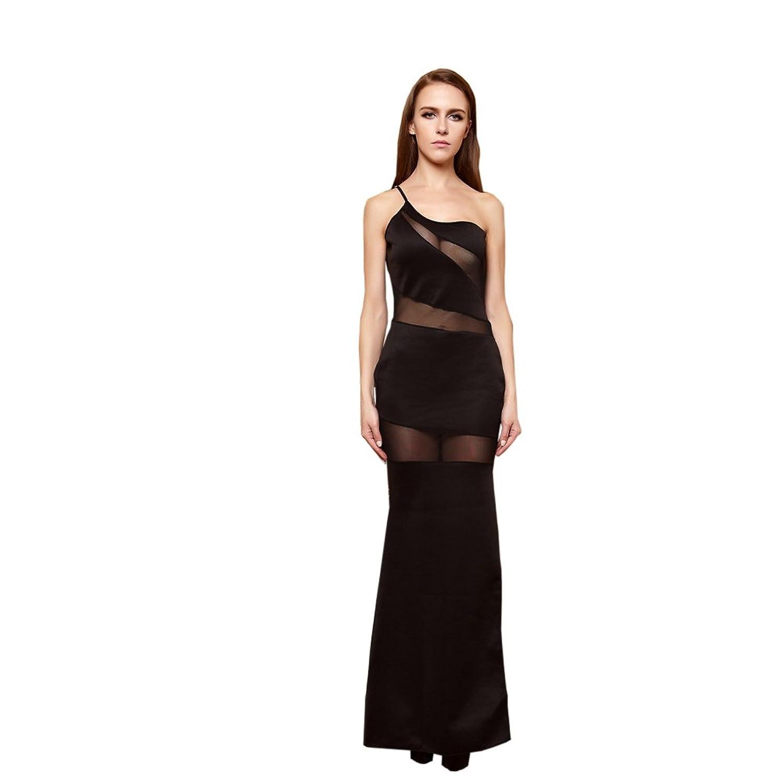 YiYiFS® Frauen höhlen heraus Spitze Sleeveless Abend-Kleid ED137