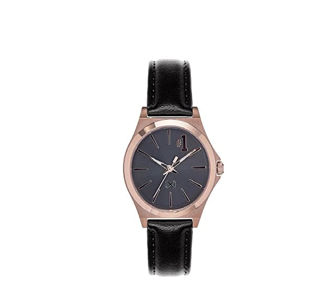 Mark Maddox Reloj Analogico para Mujer de Cuarzo con Correa en Cuero MC7102-57: Amazon.es: Relojes