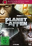 Planet der Affen: Prevolution & Revolution [2 DVDs]
