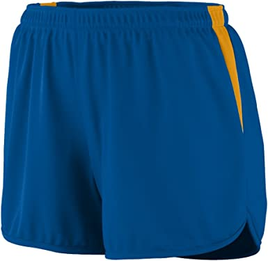 TALLA M. Augusta Sportswear 347 Velocity Track - Pantalón corto para mujer