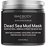 Dead Sea Mud Mask Best for Facial Treatment, Acne, Oily Skin & Blackheads - Minimizes Pores, Reduces Wrinkles, and Improves Overall Complexion. 100% Natural-Minerals From The Dead Sea 8.8oz
