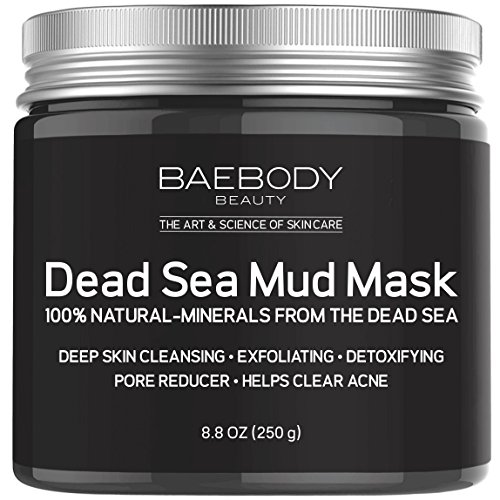 Dead Sea Mud Mask Best for Facial Treatment, Acne, Oily Skin & Blackheads - Minimizes Pores, Reduces Wrinkles, and Improves Overall Complexion. 100% Natural-Minerals From The Dead Sea 8.8oz (Dead Sea Minerals Cosmetics)