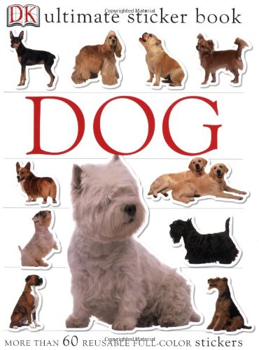 Ultimate Sticker Book Dog Books product image